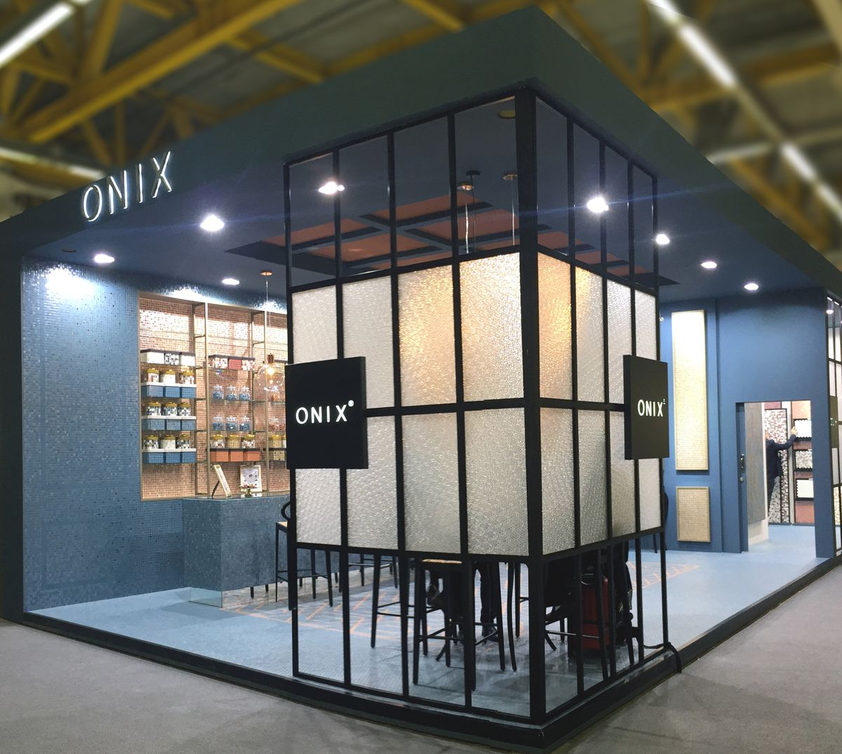 Exhibition Stand Making : Cersaie onix mosaico