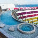 mosaico para piscinas