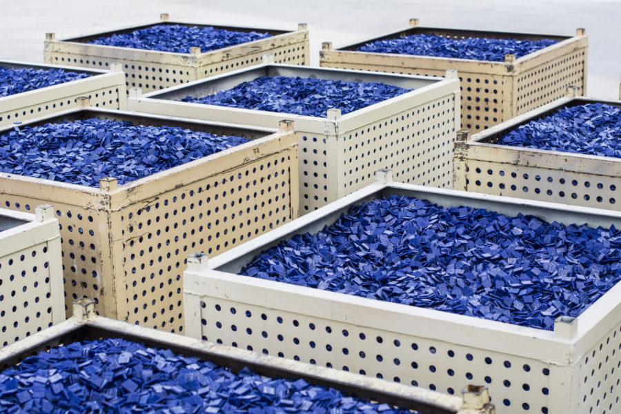 mosaico azul onix mosaic