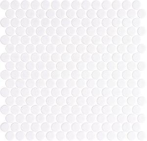 Mosaico Penny White Matte Shiny de Onix®